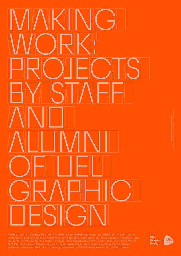 Stephen Barrett Graphic Design 0076_uel_making_work_poster_web.001
